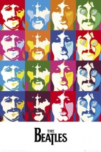 QUADRO THE BEATLES SEA OF COLOURS