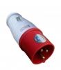 TOMADA PLUG 025 3P+N+T VERMELHO 380VCA/32A 6H IP44